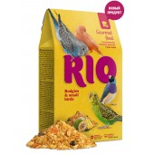 Rio Budgies & Small Birds Gourmet food Гурмэ корм для волнистых попугаев и других мелких птиц 250 г